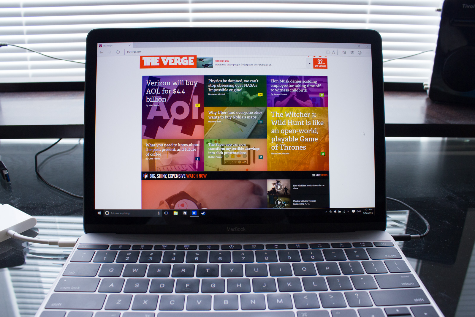 Testing The 12-inch MacBook's Performance with Windows 10